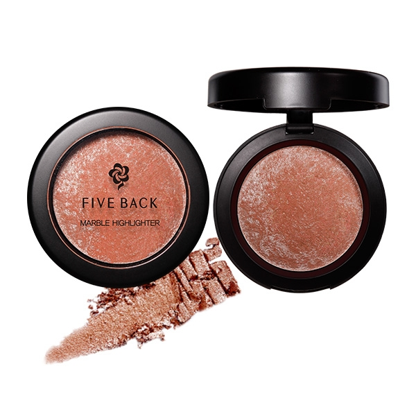 Phấn Highlight Bắt Sáng Five Back Marble Highlighter